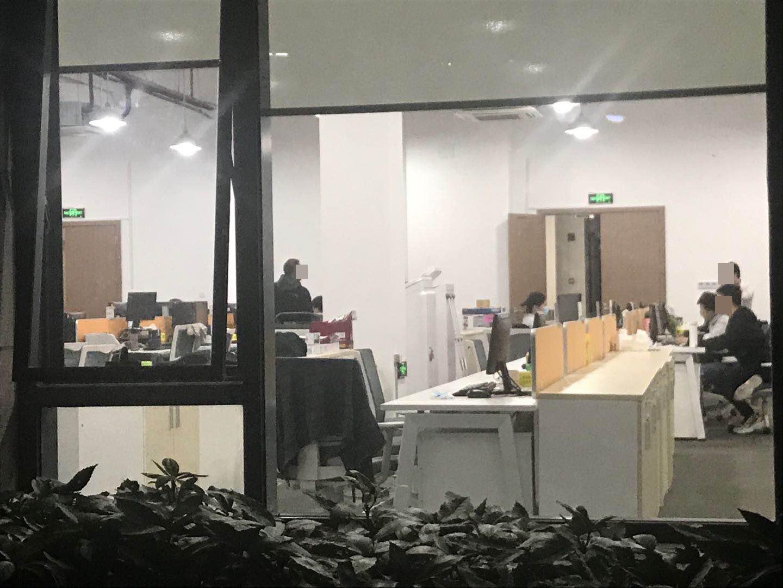 10月29日晚上,常熟农商银行金融科技总部登上热搜,但员工如常加班。澎湃新闻记者 邱海鸿 图