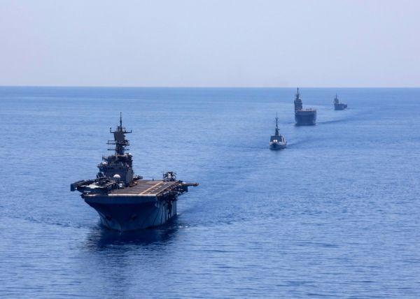 美舰队 地中海