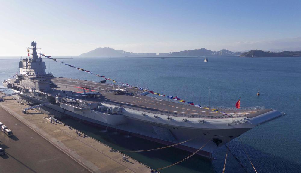 中国海军航母山东舰