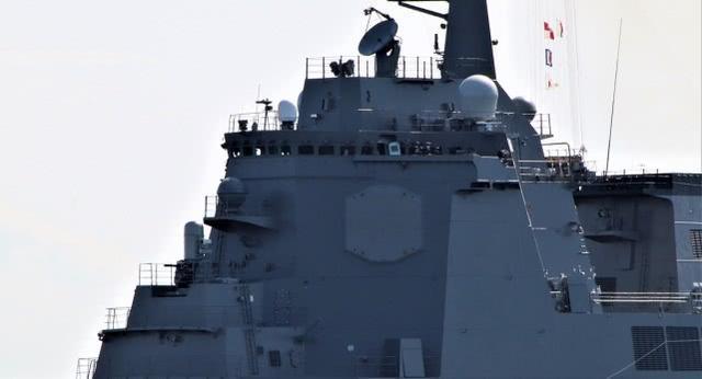 日本第一艘新一代神盾舰服役!配96个垂发单元可拦截弹道导弹