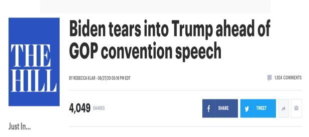【百度排名点击】_彭斯称拜登领导的美国不会安全 拜登反击:暴力发生在特朗普治下