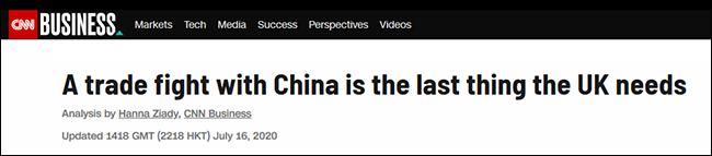 【旺道快猫网址】_CNN都困惑:英国在最脆弱时候招惹中国
