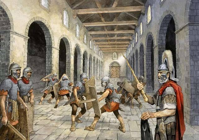 時刻準備起義的羅馬近衛軍