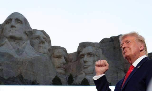 "【ico365】_宣布建设""美国英雄国家公园"" 特朗普""英雄名单""受质疑"
