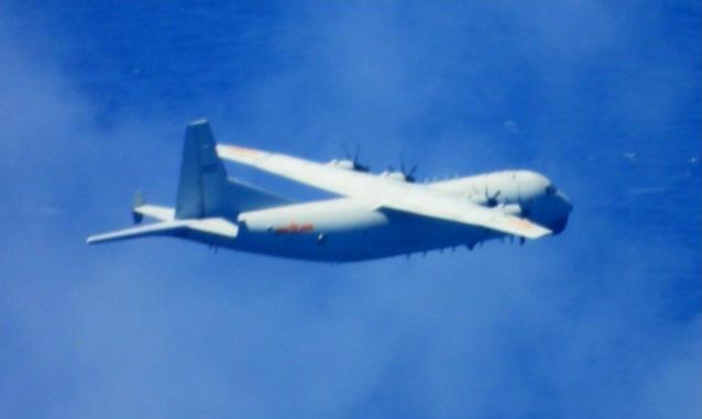 【多维网】_台媒:美军机刚飞越海峡 解放军军机就出现在台湾西南空域
