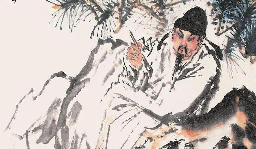 上图_ 李白(701年-762年)