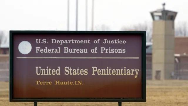 图说:丹尼尔·李死刑执行地:印第安纳州的特雷霍特联邦监狱。图源:AP