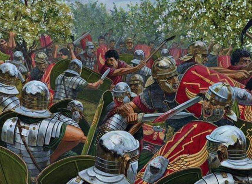 軍隊的逆反和不受控制導致羅馬皇帝權威散盡