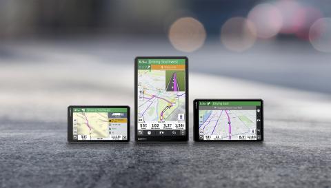 <strong>佳明推出新款大尺寸卡车GPS导航装置 可定</strong>