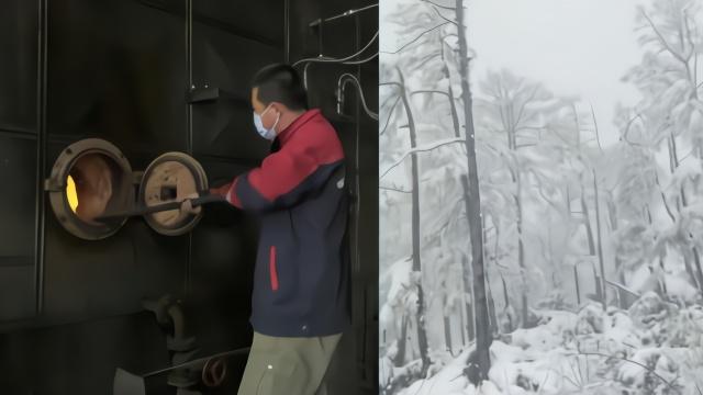 """又延长了!""""中国最冷小镇""""夏天仍在供暖,刚下过一场大雪"""