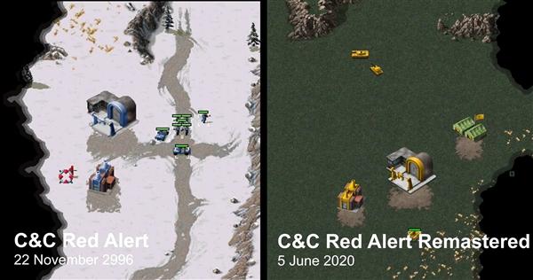 《红警》重制版与原版对比 玩家:感觉全变了