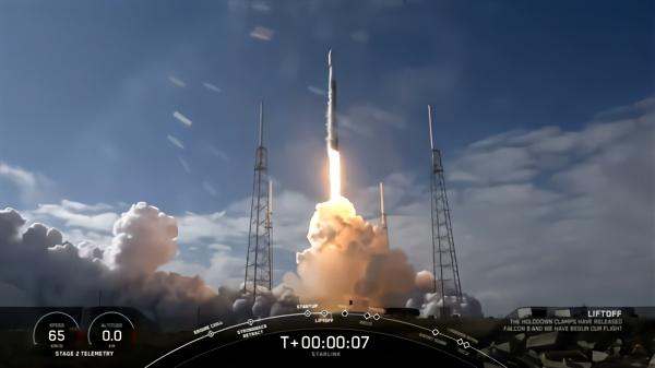 SpaceX第五批60颗卫星成功发射:四手火箭回收失败插图