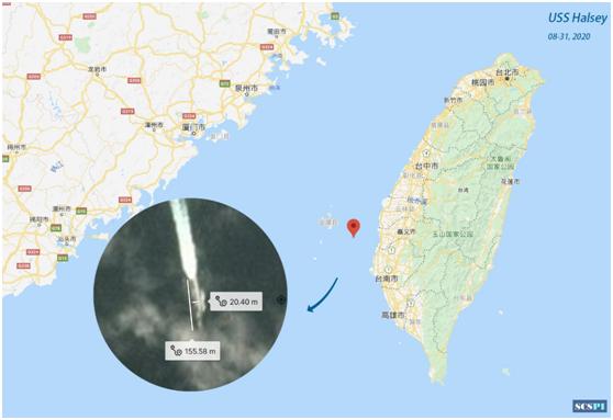 【厦门楼凤验证】_美国军舰过台海行踪被卫星曝光疑似首次进入澎湖水道