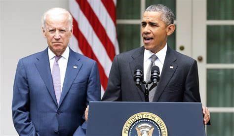 奥巴马与拜登  图片来源:Nation Review