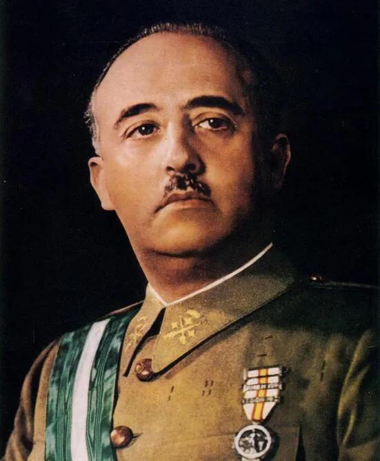 上图_ 弗朗西斯科·佛朗哥(1892年12月4日—1975年11月20日)