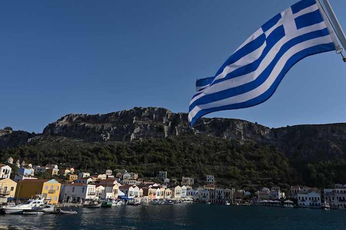 2020年8月28日,希腊卡斯特洛里佐岛(Kastellorizo)距离土耳其大陆仅两公里。