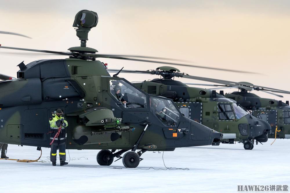 究竟有多抗冻?德军两款主力直升机赴瑞典测试