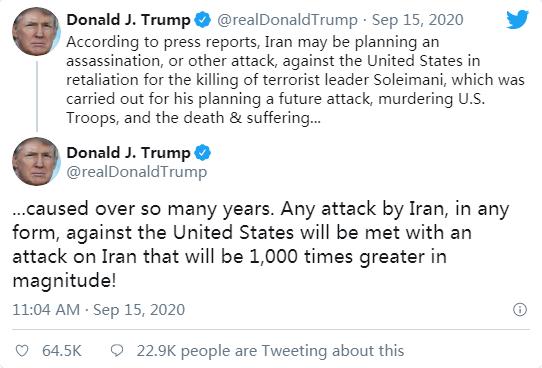 """【网站备案教程】_特朗普回应""""伊朗考虑暗杀美驻南非大使""""传闻"""