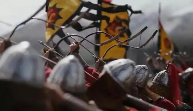 上图_ 弓箭对骑兵