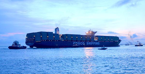 全球航运需求疲软波及中远海控:上半年营收增长净利下滑,中欧陆海快线箱运量猛增43%