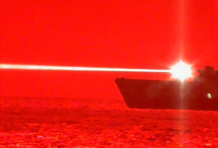 美军成功测试高能激光炮 俄吐槽:有雾霾就不管用