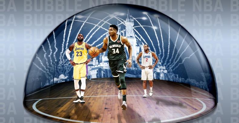 """三个月,NBA做到了""""零感染""""。"""