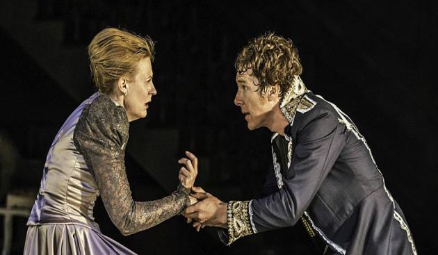 """""""卷福""""参演的《哈姆雷特》"""