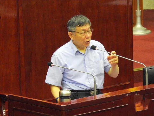 柯文哲透露会与韩国瑜碰面:有些话要对他说(图)