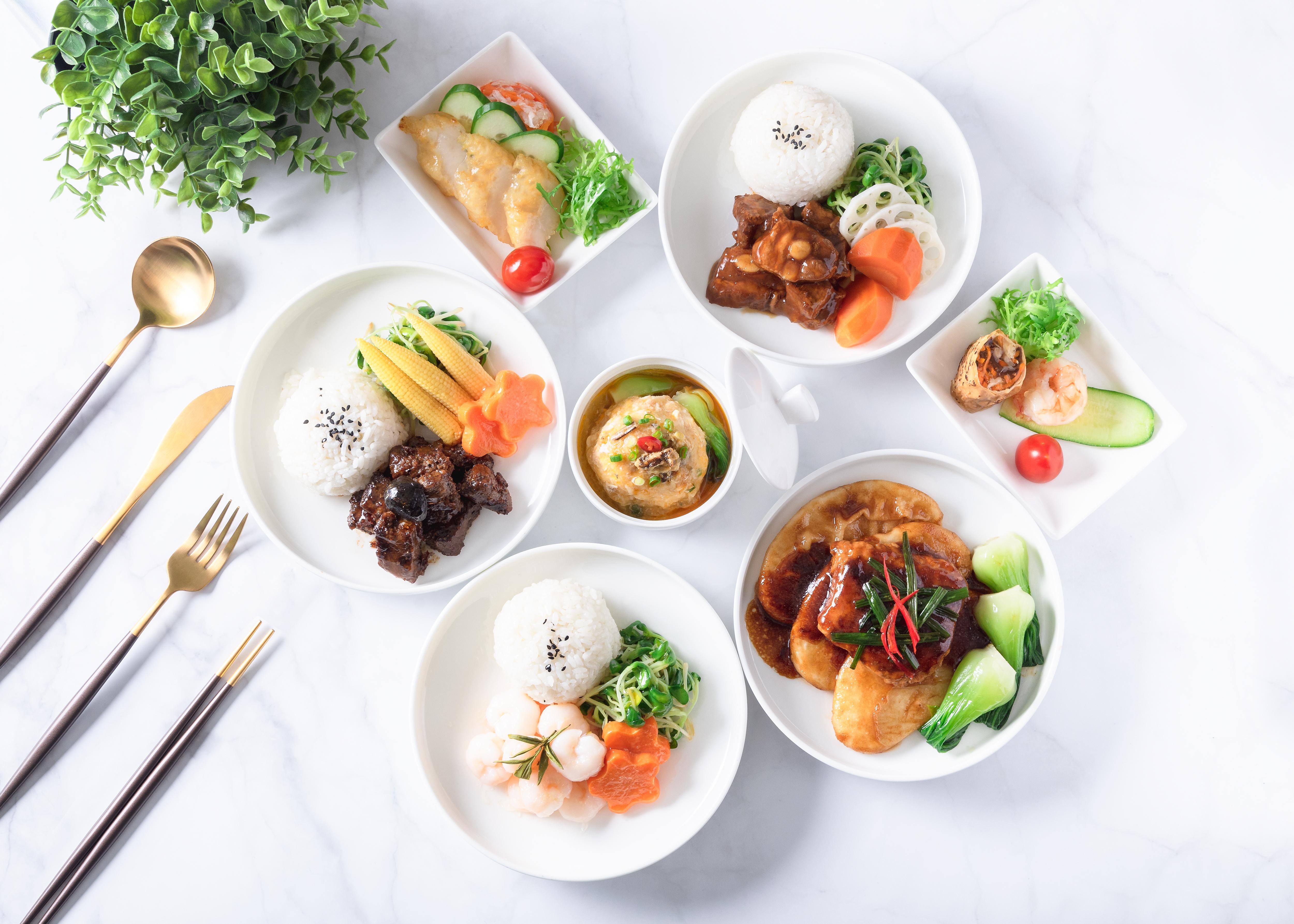 东航公务舱特色菜品