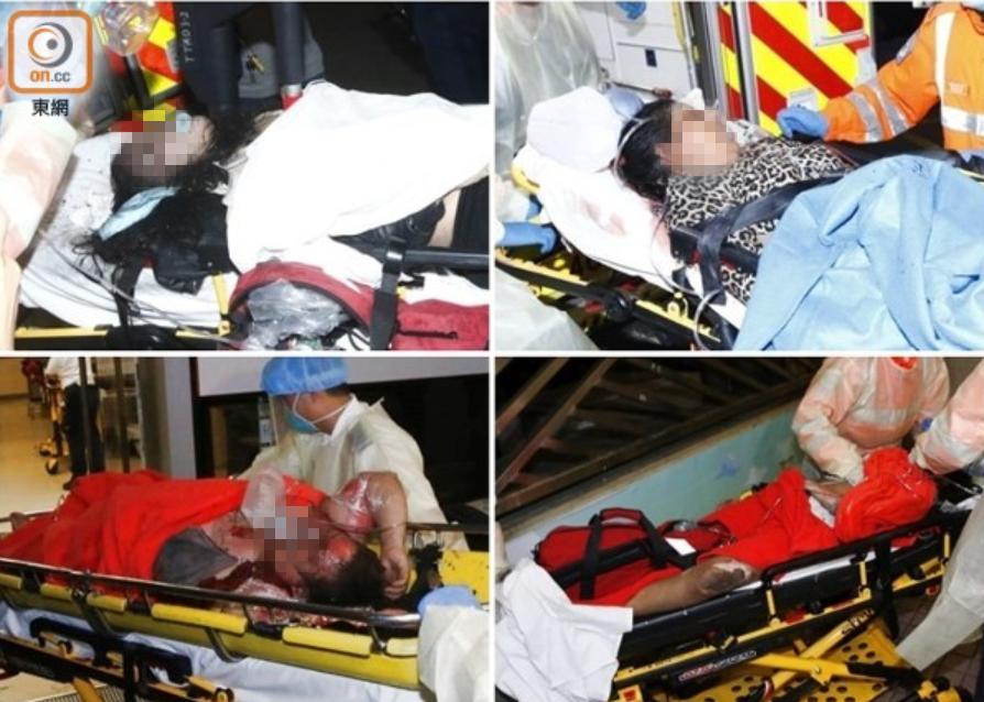多名伤者送医院时昏迷 图源东网