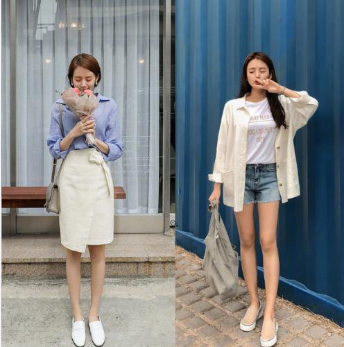 清新减龄的韩风穿搭示范,气质温柔不挑身材,跟明媚的春天超级搭