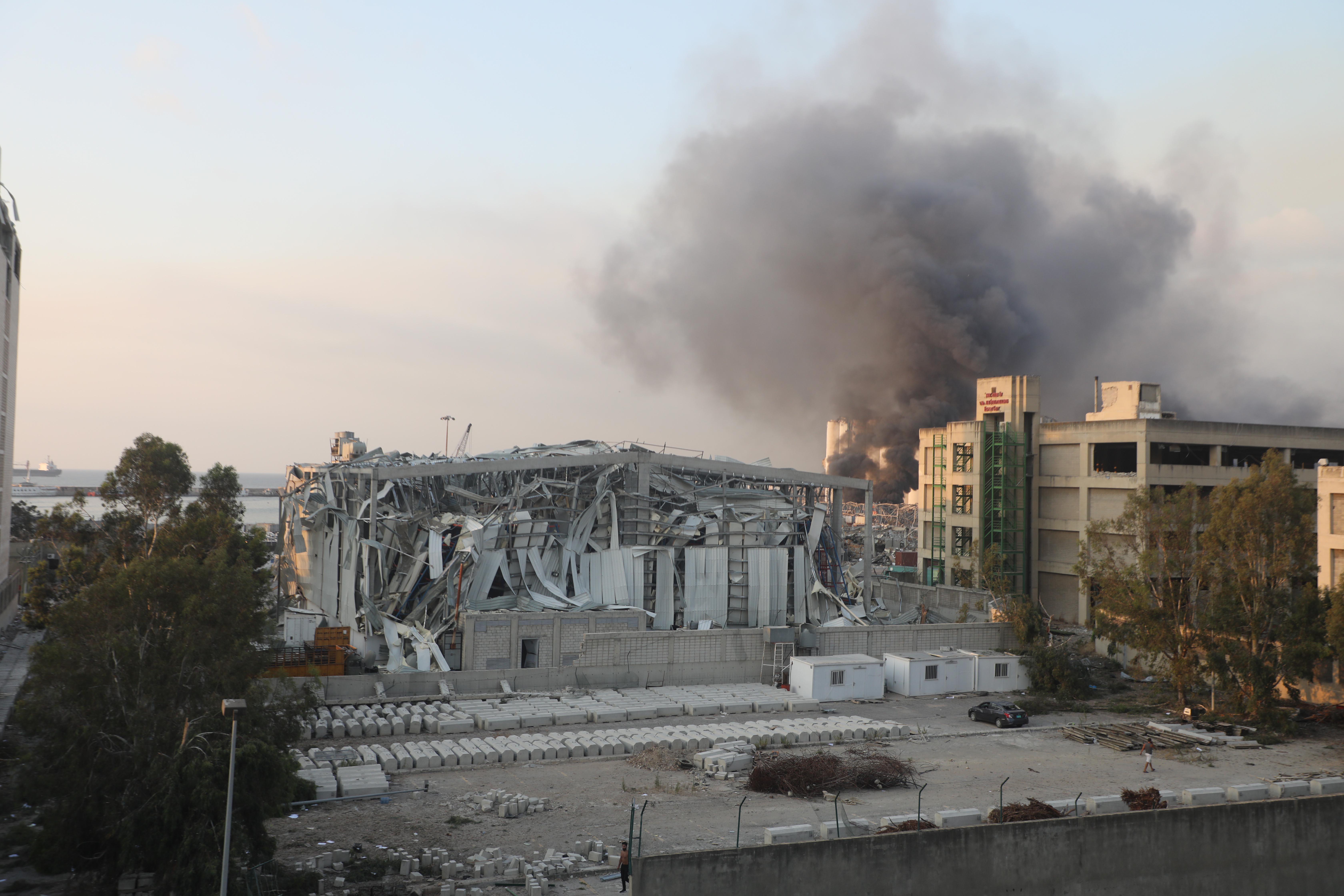 【机器人围棋】_黎巴嫩爆炸已致百人死亡,卫生部长称失踪者人数更多