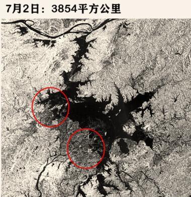 """【彩乐园注册邀请码12345】_7天""""变大""""352平方公里!鄱阳湖水域面积达近10年最大"""