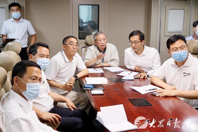 【网络推广方案】_山东省委书记刘家义,突击抽查防汛值守情况