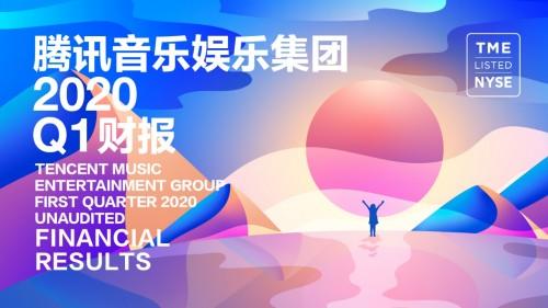 腾讯音乐娱乐集团在线音乐和社交娱乐形
