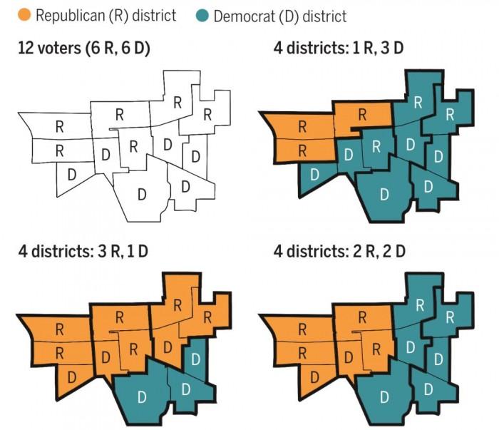 人工智能可帮助美国更公正地划分选区