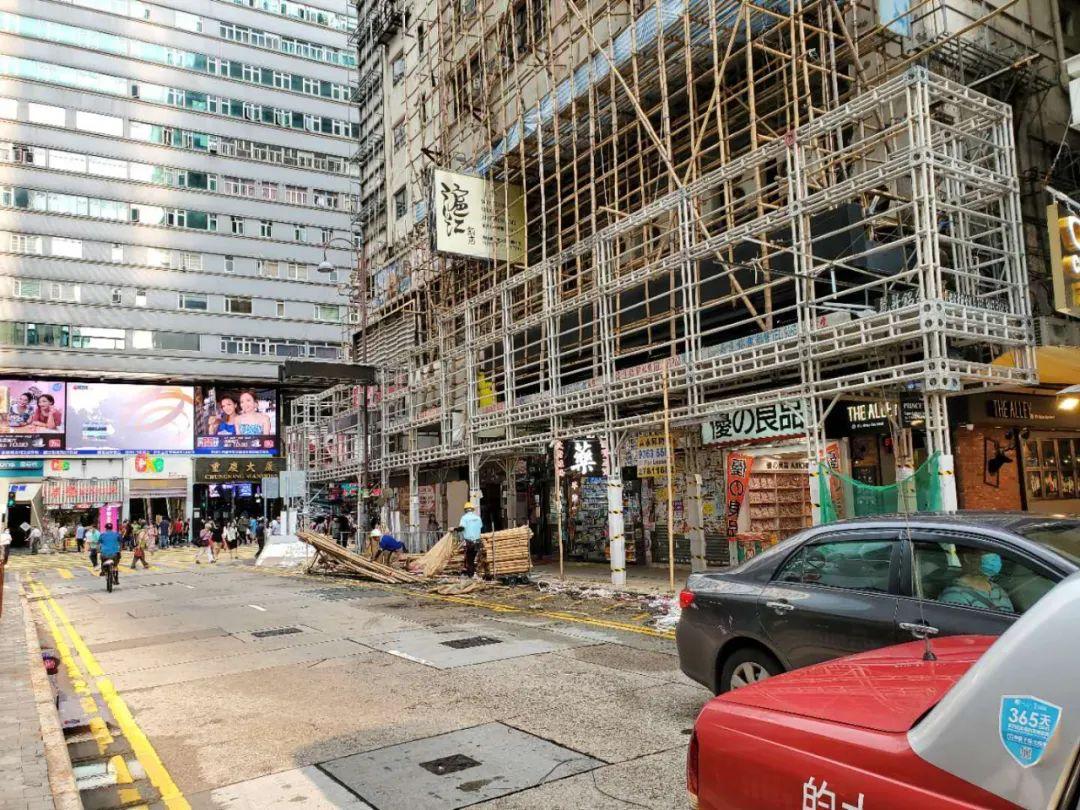 (尖沙咀漢口道,圖片為香港市民提供)