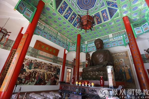 澳门普提禅院佛像(图片来源:凤凰网佛教 摄影:徐上杰)