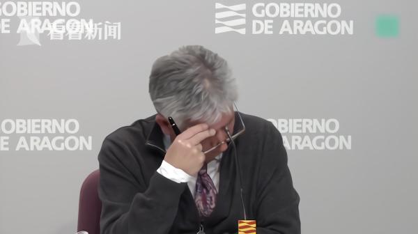 口罩紧缺卖到2200元一个_西班牙这名卫生部长哽咽落泪