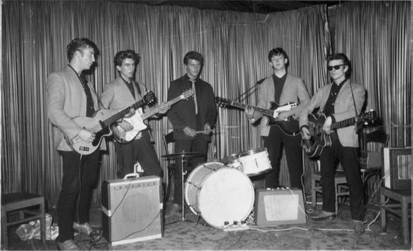 披头士乐队在Indra音乐俱乐部