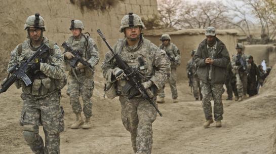 从阿富汗撤下来的美军去哪了?将调至亚太搞对抗