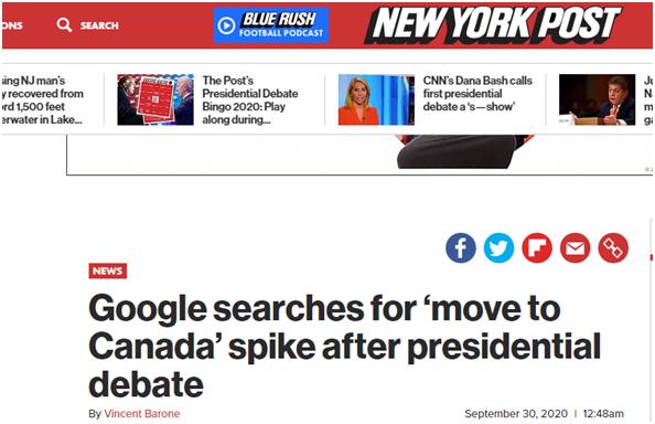 """【百度防恶意点击软件】_特朗普与拜登首场对决结束 """"搬去加拿大""""等词在谷歌搜索量飙升"""