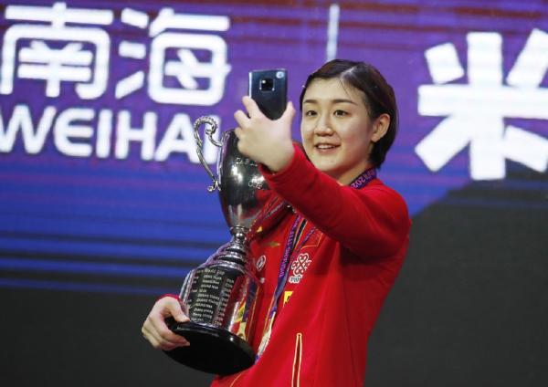 陈梦能否锁定一个奥运女单参赛资格?