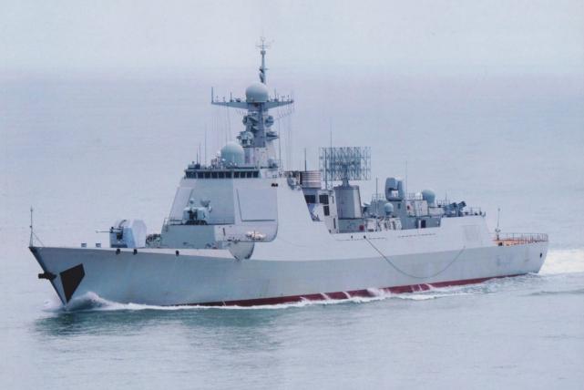 中国的052DL型导弹驱逐舰