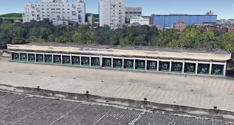 谷歌3D地图曝光台军作战指挥中心 可识别火箭车数量