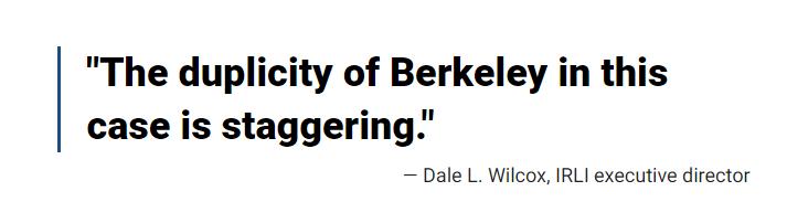 """(图为美国福克斯新闻网攻击想帮助国际留学生的加州大学伯克利分校的学生是""""诈骗分子"""")"""