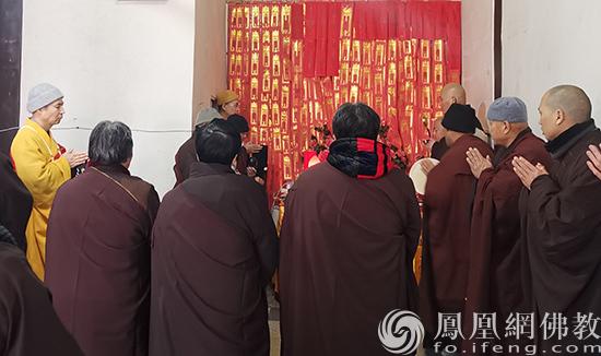 安徽三祖禅寺四众学生讽诵《法华经》_祈福武汉祝福祖国