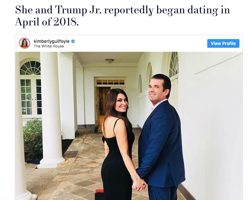 特朗普的准儿媳:相差十岁的姐弟恋,51岁的她凭啥挤进总统家族?