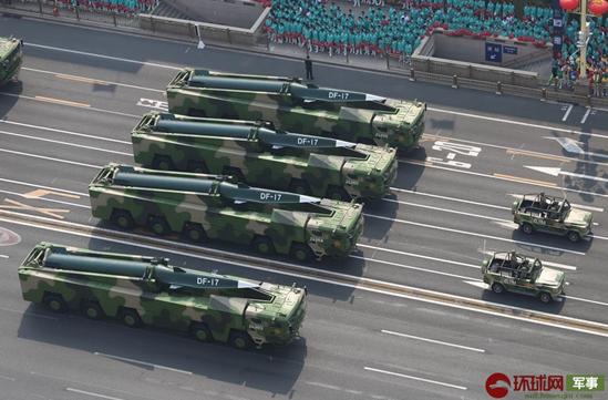 解放军东风17导弹已部署东南沿海?台防务部门急回应