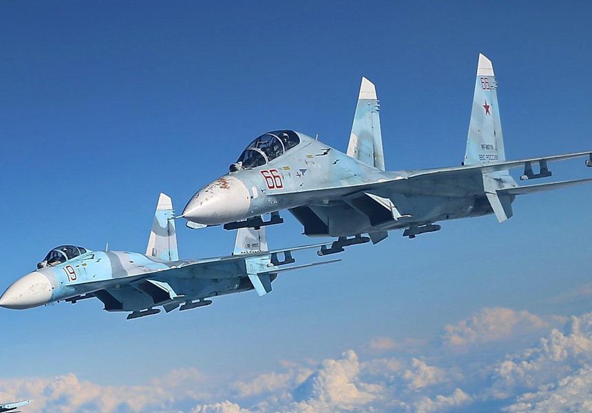 【星箭】_俄战机再次起飞拦截美国侦察机